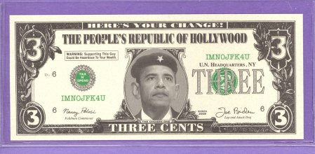 Obama Obamawood 3? Here's Your Change Political Note