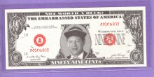 Al Gore Not Worth a Buck 99? Bag Man Note Oriental Design
