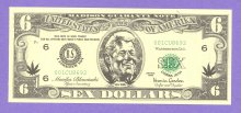 Bill Clinton Sex Dollars Political Note