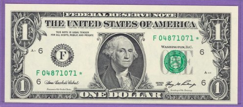 2006 $1.00 FRN STAR NOTE Atlanta District F* Block Run 2 F04871071* UNC
