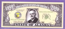 State of Alaska Novelty or Fantasy Note
