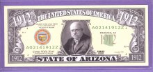 State of Arizona Novelty or Fantasy Note