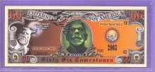 Monsters 66 Tombstones Novelty or Fantasy Note