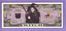 Witch $1,000,000 Fantasy or Novelty Note