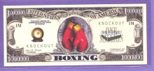 Boxing $1,000,000 Fantasy or Novelty Note