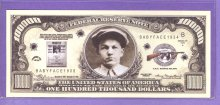 Baby Face Nelson $100,000 Fantasy or Novelty Note