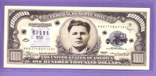 Pretty Boy Floyd $100,000 Fantasy or Novelty Note