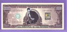 Dr. Jekyll & Mr. Hyde $1,000,000 Fantasy or Novelty Note