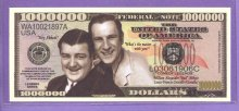 Abbott and Costello Million Dollar Fantasy or Novelty Note