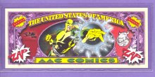 AAC Superhero $1,000,000 Fantasy or Novelty Note